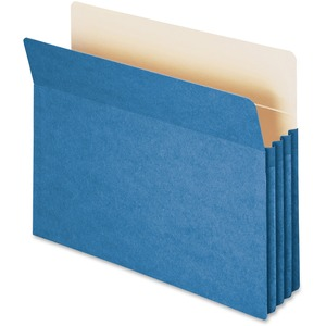 Smead 73225 Blue Colored File Pockets SMD73225