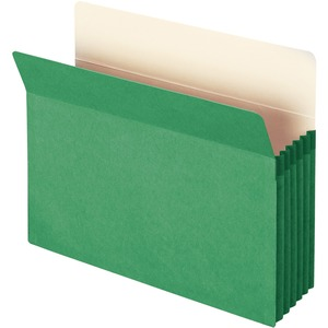 Smead 73226 Green Colored File Pockets SMD73226
