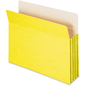 Smead 73233 Yellow Colored File Pockets SMD73233