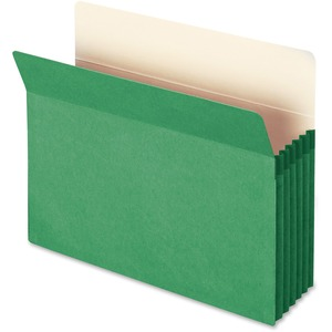 Smead 73236 Green Colored File Pockets SMD73236