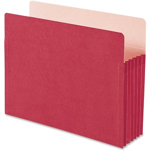 Smead 73241 Red Colored File Pockets SMD73241