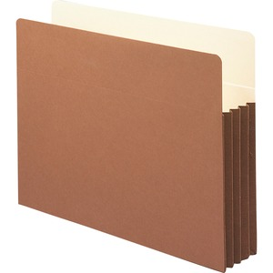 Smead 73264 Redrope File Pockets with Tyvek-Lined Gusset SMD73264