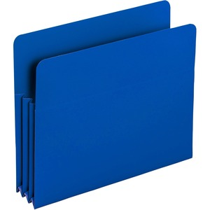 Smead 73503 Blue Poly File Pockets SMD73503