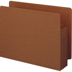 Smead 73780 Redrope Extra Wide End Tab TUFF Pocket File Pockets with Reinforced Tab SMD73780
