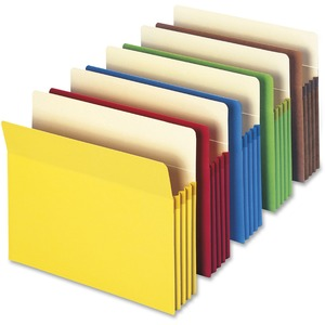 Smead 73890 Assortment Colored File Pockets SMD73890