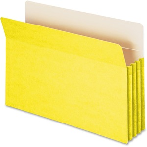 Smead 74233 Yellow Colored File Pockets SMD74233