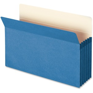 Smead 74235 Blue Colored File Pockets SMD74235