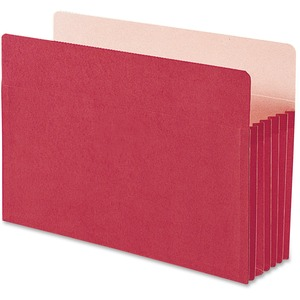 Smead 74241 Red Colored File Pockets SMD74241