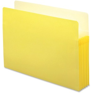 Smead 74243 Yellow Colored File Pockets SMD74243