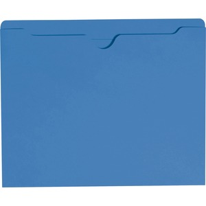 Smead 75502 Blue Colored File Jackets SMD75502