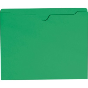 Smead 75503 Green Colored File Jackets SMD75503