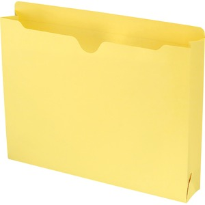 Smead 75571 Yellow Colored File Jackets SMD75571