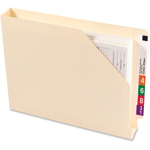 Smead 75740 Manila End Tab File Jackets with Reinforced Tab SMD75740