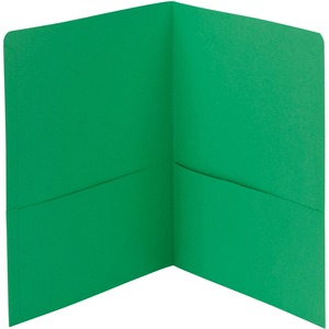 Smead 87855 Green Two-Pocket Heavyweight Folders SMD87855