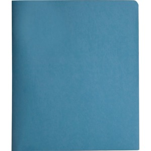 Smead 88052 Blue Two-Pocket Heavyweight Folders with Tang Strip Style Fastener SMD88052