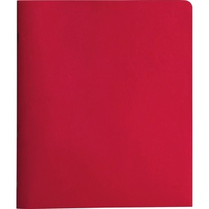 Smead 88059 Red Two-Pocket Heavyweight Folders with Tang Strip Style Fastener SMD88059