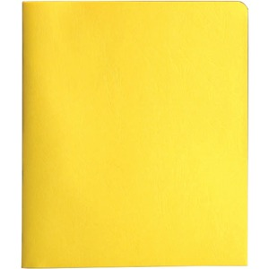 Smead 88062 Yellow Two-Pocket Heavyweight Folders with Tang Strip Style Fastener SMD88062