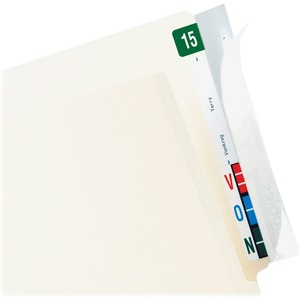Tabbies Wrap Around Folder End Tabs TAB68386