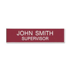 Xstamper Plastic Name Badge XSTJ11