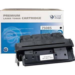 Elite Image MICR Toner Cartridge - Remanufactured for HP - Black ELI75085