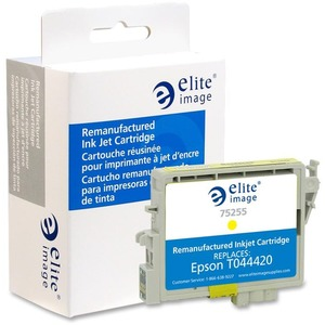 Elite Image Ink Cartridge - Remanufactured for Epson - Yellow ELI75255