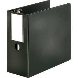 Sparco Slanted Ring Binder with Label Holder SPR08901