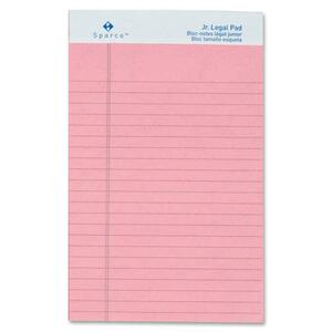 Sparco Colored Jr. Legal Ruled Writing Pads SPR01071
