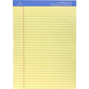 Sparco Premium Grade Perforated Legal Ruled Pad SPR1011