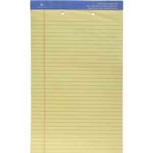 Sparco 2-Hole Punched Ruled Legal Pads SPR10142HP