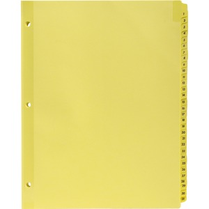 Sparco Numbered 1-31 Index Dividers SPR01808