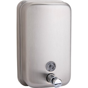 Genuine Joe Stainless Steel Soap Dispenser GJO02201