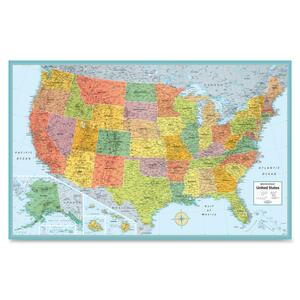 Rand McNally USA Wall Map RAN528959999