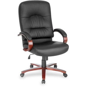 Lorell Woodbridge Executive High-Back Chair LLR60335