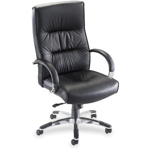 Lorell Bridgemill Executive High-Back Swivel Chair LLR60502