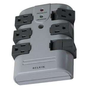 Belkin 6-Outlets Surge Suppressor BLKBP106000