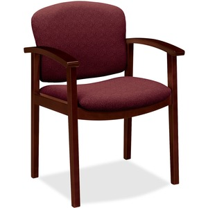 HON Invitation 2111 Single Rail Arm Chair HON2111NBE62