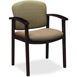HON Invitation 2111 Single Rail Arm Chair HON2111NBE16