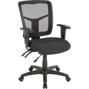 Lorell 86000 Series Managerial Mid-Back Chair LLR86201