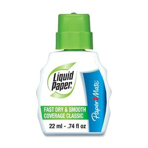 Paper Mate Liquid Paper Fast-dry Correction Fluid PAP61446