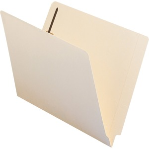 Smead 34160 Manila 100% Recycled End Tab Manila Fastener File Folders with Reinforced Tab SMD34160