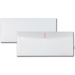 Quality Park Breast Cancer Business Envelope QUA11120