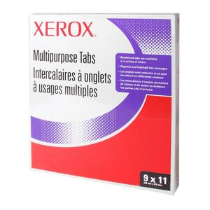 Xerox Straight Collated Copier Tabs XER3R4417