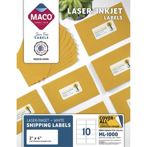 Maco Shipping Label MACML1000