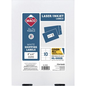 Maco Shipping Label MACML1000B