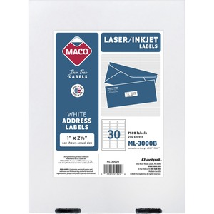 Maco Address Label MACML3000B