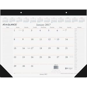 At-A-Glance Executive Desk Pad Calendar AAGSW20100
