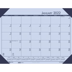 House of Doolittle EcoTones Compact Calendar Desk Pad HOD12473