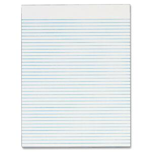 TOPS Recycled White Gum Narrow Ruled Legal Pad TOP74852