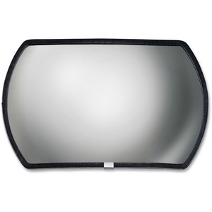 See All RR1218 Round Rectangular Glass Convex Mirror SEERR1218