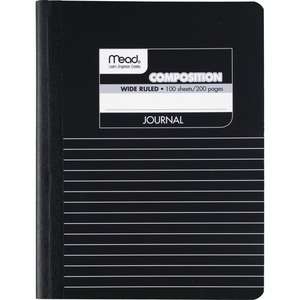 Mead Square Deal Black Marble Journal MEA09920